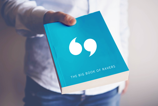 CX Success Stories: The Big Book Of Ravers!